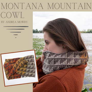 Montana Mountain Cowl Kit, dyed to order