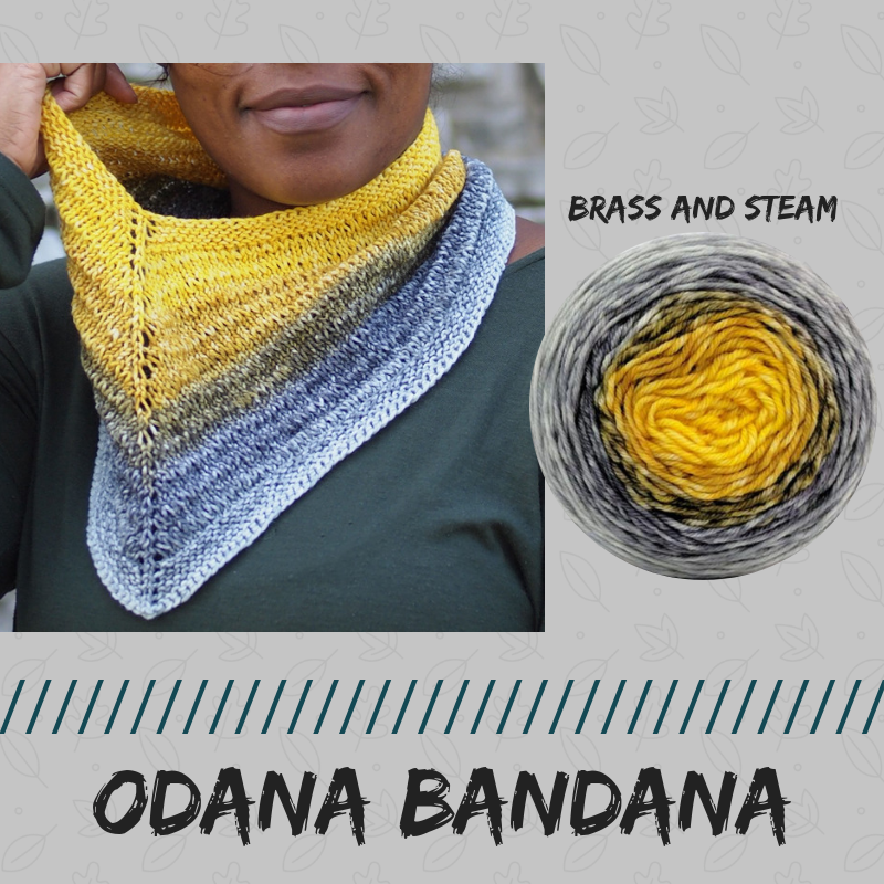 Odana Bandana Kit, dyed to order