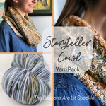 Storyteller Cowl Yarn Pack, pattern not included, ready to ship