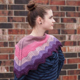 Multnomah Shawl Yarn Pack, pattern not included, ready to ship