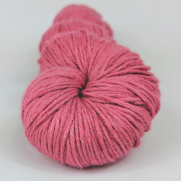 Knitcircus Yarns: Jump Around 100g Kettle-Dyed Semi-Solid skein, Sensational Silk, ready to ship yarn