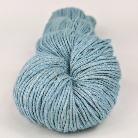 Blue Agave 100g Kettle-Dyed Semi-Solid skein, Sensational Silk, ready to ship