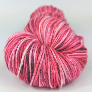 Knitcircus Yarns: Takes Two To Tango 100g Speckled Handpaint skein, Sensational Silk, ready to ship yarn