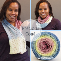 Precious Cowl Yarn Pack, pattern not included, ready to ship