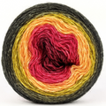 Knitcircus Yarns: Unbeleafable 100g Panoramic Gradient, Breathtaking BFL, ready to ship yarn