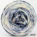 Knitcircus Yarns: A Quiet Night 100g Modernist, Ringmaster, choose your cake, ready to ship yarn