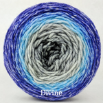 Knitcircus Yarns: Kindness is Everything Panoramic Gradient, dyed to order yarn