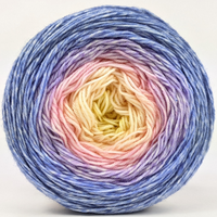 Knitcircus Yarns: Rise and Shine 100g Panoramic Gradient, Greatest of Ease, ready to ship yarn
