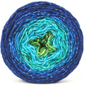 Knitcircus Yarns: Dive Right In 100g Panoramic Gradient, Flying Trapeze, ready to ship yarn