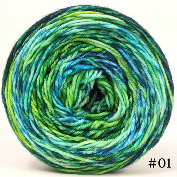 Knitcircus Yarns: Siren Song 100g Modernist, Divine, choose your cake, ready to ship yarn