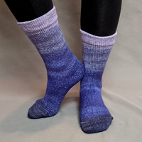 Knitcircus Yarns: Dream a Little Dream Chromatic Gradient Matching Socks Set (large), Greatest of Ease, ready to ship yarn