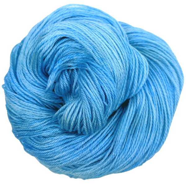 Knitcircus Yarns: Clear Skies Ahead 100g Kettle-Dyed Semi-Solid skein, Opulence, ready to ship yarn