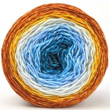 Knitcircus Yarns: Are We There Yet? 100g Panoramic Gradient, Greatest of Ease, ready to ship yarn - SALE