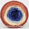 Knitcircus Yarns: Bad Moon on the Rise Panoramic Gradient, dyed to order yarn