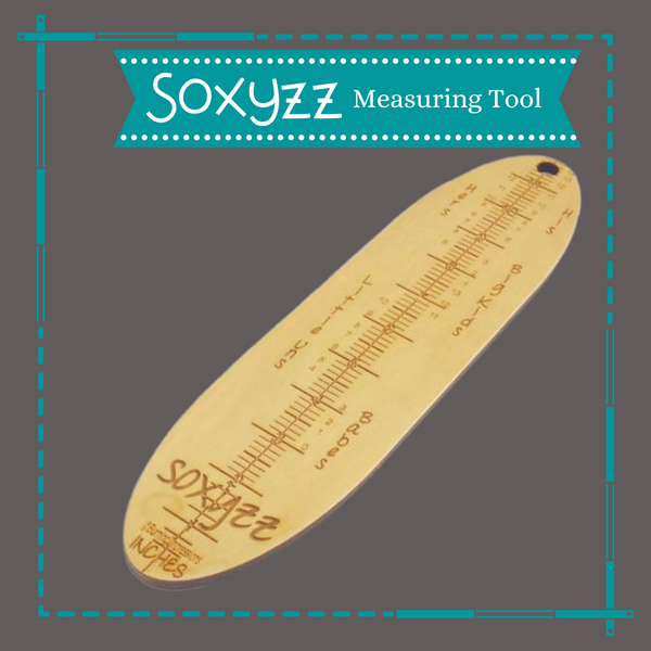 Soxyzz Foot Measuring Tool by Burning Impressions 2, ready to ship