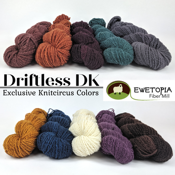 Driftless DK, assorted colors, ready to ship - SALE