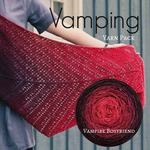 Vamping Shawl Yarn Pack, pattern not included, dyed to order