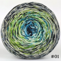 Knitcircus Yarns: Growing Like A Weed 100g Impressionist Gradient, Trampoline, choose your cake, ready to ship yarn
