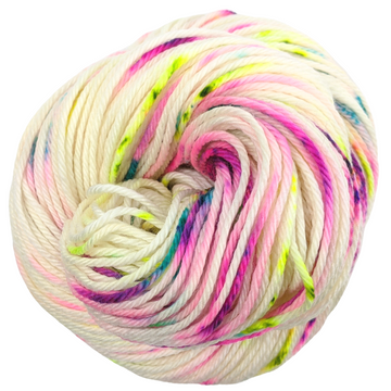 Knitcircus Yarns: Wild Child 100g Speckled Handpaint skein, Ringmaster, ready to ship yarn