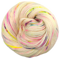 Knitcircus Yarns: Wild Child 100g Speckled Handpaint skein, Breathtaking BFL, ready to ship yarn