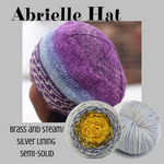 Abrielle Hat Yarn Pack, pattern not included, ready to ship