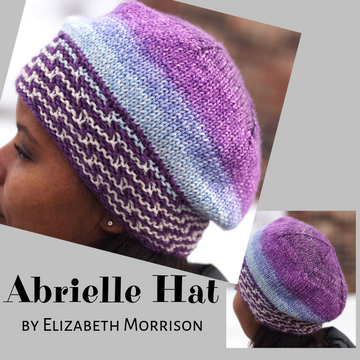 Abrielle Hat Yarn Pack, pattern not included, dyed to order
