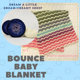 Bounce Blanket Kit, dyed to order