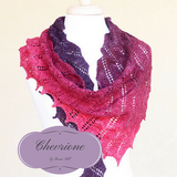 Chevrione Shawl Yarn Pack, pattern not included, dyed to order
