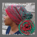 Conversationalist Hat Yarn Pack, pattern not included, Gradient Stripes, dyed to order
