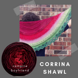 Corrina Shawl Kit, ready to ship