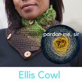 Ellis Cowl Yarn Pack, dyed to order