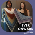 Pattern - Ever Onward, by Jaala Spiro, ready to ship - SALE