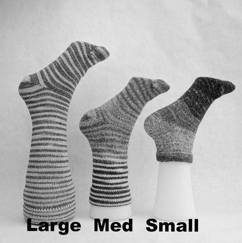 Knitcircus Yarns: Leaf Pile Leap Panoramic Gradient Matching Socks Set (medium), Greatest of Ease, ready to ship yarn