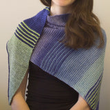 Flight Path Shawl Kit, small, dyed to order