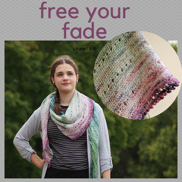 Pattern - Free Your Fade, by Andrea Mowry, ready to ship