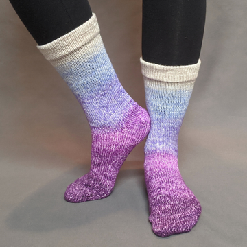 Knitcircus Yarns: The Miss Bennets Panoramic Gradient Matching Socks Set (medium), Greatest of Ease, ready to ship yarn