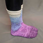 Knitcircus Yarns: The Miss Bennets Panoramic Gradient Matching Socks Set, dyed to order yarn