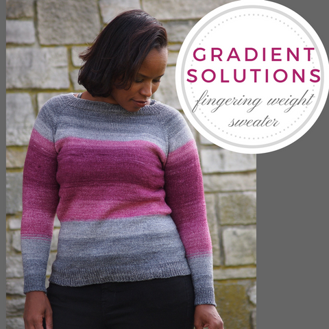 Gradient Solutions Sweater II Kit, dyed to order