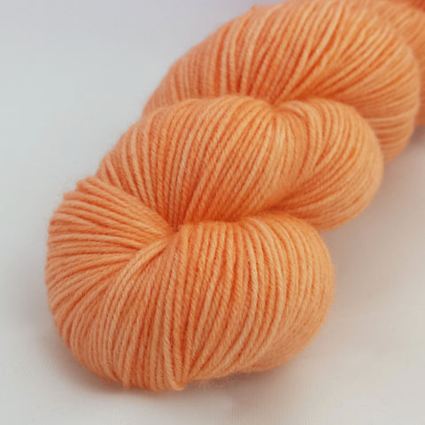 A Nice Ripe Melon Kettle-Dyed Semi-Solid skeins, dyed to order