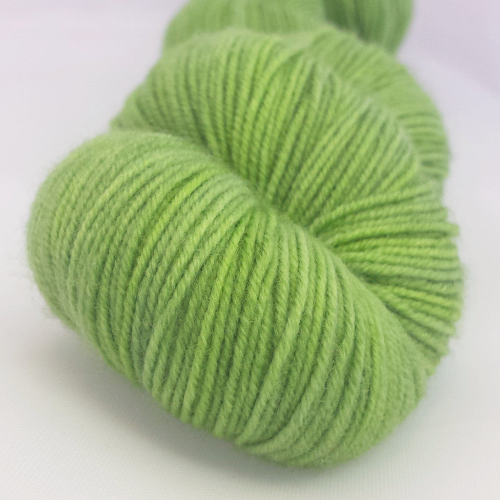 Green with Envy Kettle-Dyed Semi-Solid skeins, dyed to order