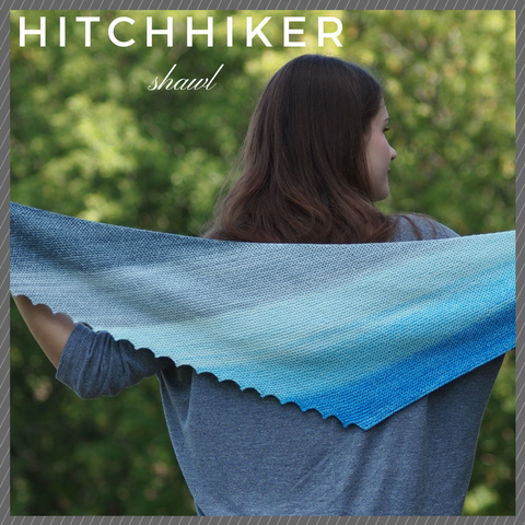 Class: Hitchhiker Shawl with Liz Avery at our store on January 27, 2018 12:00-2:30pm