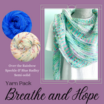 Breathe and Hope Shawl Yarn Pack, pattern not included, dyed to order