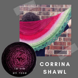 Corrina Shawl Kit, dyed to order