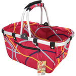 Folding Frame Basket, assorted colors, ready to ship