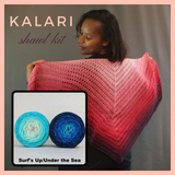 Kalari Shawl Kit, ready to ship