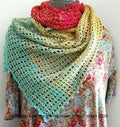 Pattern - Digital Download of Lacy Lines Shawl by Margo Bauman