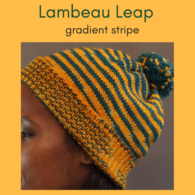 Lambeau Leap 100g Gradient Stripes, Ringmaster, dyed to order