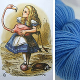 Through the Looking Glass Kettle-Dyed Semi-Solid skeins, dyed to order