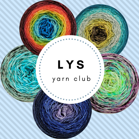 WHOLESALE ONLY 2018 Local Yarn Shop LYS Yarn Club, shipping included