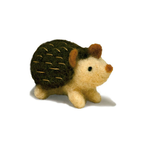 Class: Needle Felting Simple Animals with Michelle at our store on January 19th 2018 from 10:00-12:00pm